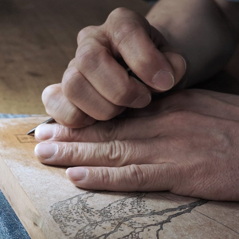 crafter's hands
